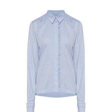 Frilled Placket Shirt
