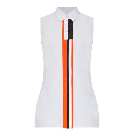 Sleeveless Stripe Shirt, ${color}