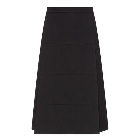 Panelled Midi Skirt, ${color}