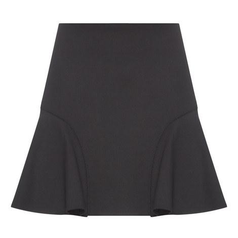 Flounced Mini Skirt, ${color}