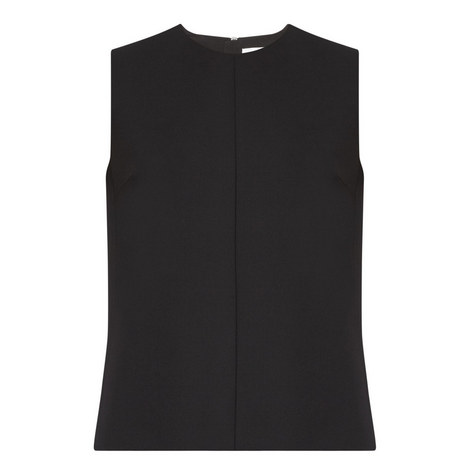 Sleeveless Panel Top, ${color}