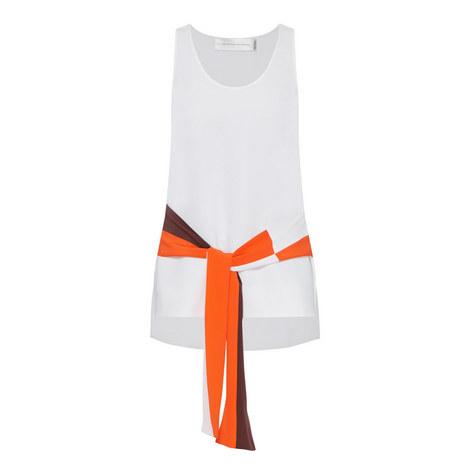 Waist Tie Vest Top, ${color}
