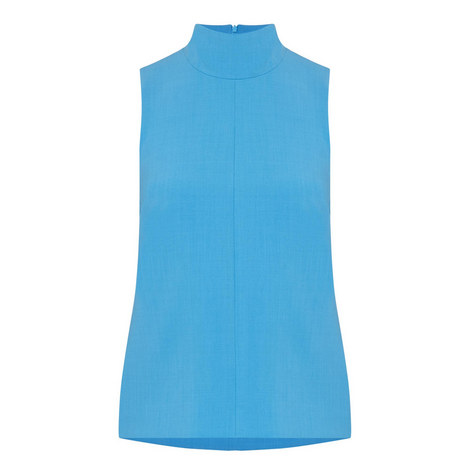 Sponge Sleeveless Top, ${color}