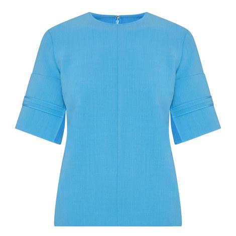 Sponge Stitch Sleeve Top, ${color}