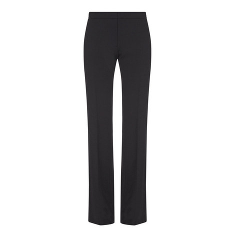 Wide Ankle Panel Trousers, ${color}