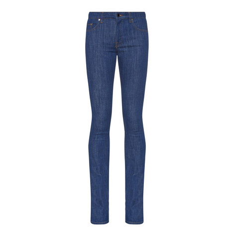 Slim Fit Flared Jeans, ${color}