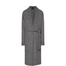 Wool Mix Belted Coat