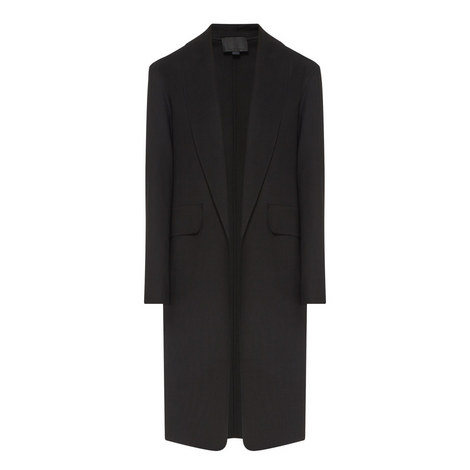 Shawl Collar Coat, ${color}