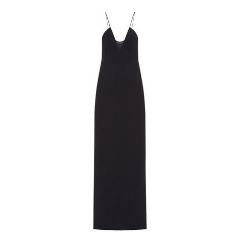 V-Neck Slip Gown, ${color}