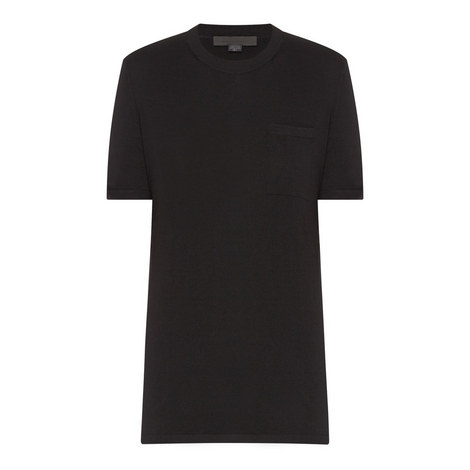 Black Wool T-Shirt, ${color}