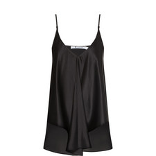 Trapeze Silk Camisole Top