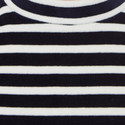Cropped Stripe T-Shirt, ${color}