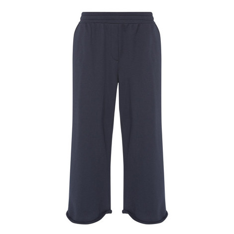 Wide Fit Cropped Sweatpants, ${color}