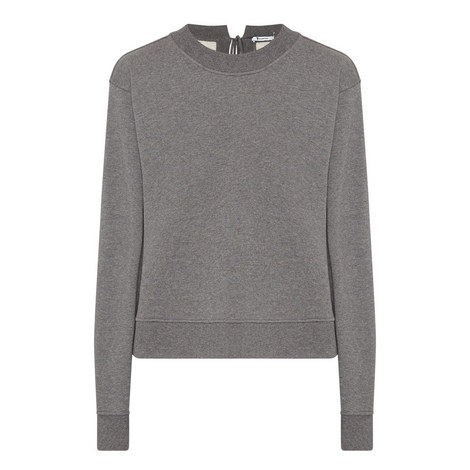 Tie-Back Sweatshirt, ${color}