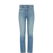 Cult Cropped Straight Fit Jeans