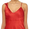 Cherry Twist Shoulder Slip Dress, ${color}