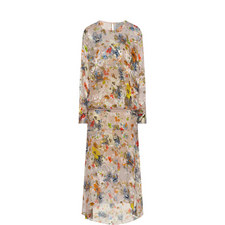 Delia Floral Print Dress