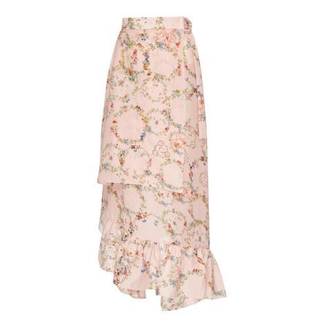 Flora Wrap Skirt, ${color}