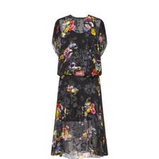 Leonora Floral Print Dress