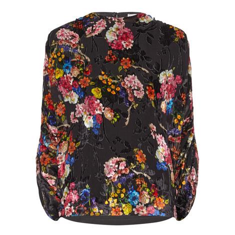 Darcy Floral Detail Top, ${color}
