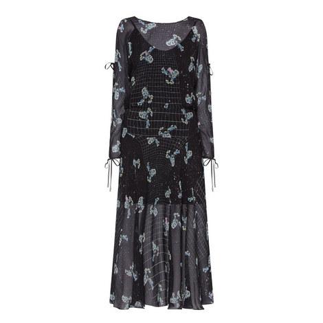 Sharon Silk Midi Dress, ${color}