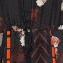 Lauretta Mixed Print Dress, ${color}