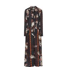 Lauretta Mixed Print Dress