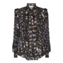 Billy Wild Rose Print Blouse, ${color}