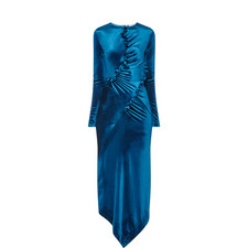 Tegan Velour Dress