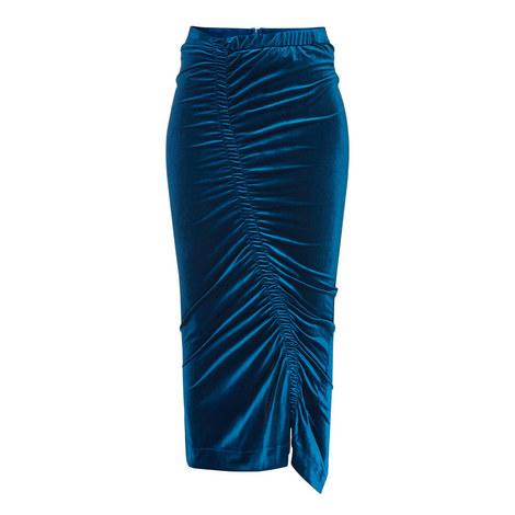 Sophie Velour Skirt, ${color}