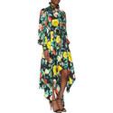 Arabella Flower Print Dress, ${color}