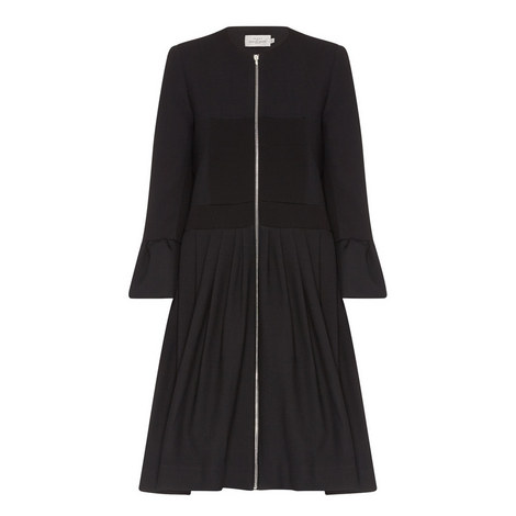 Salma Bell Sleeve Coat, ${color}