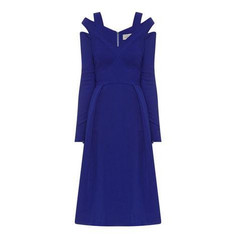 Isal Cut-Out Shoulder Dress, ${color}