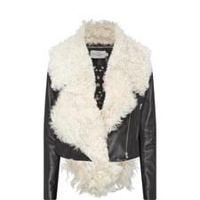 Daphne Shearling Leather Jacket