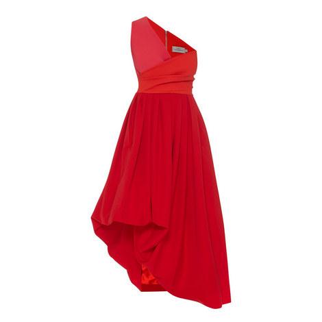 April One-Shoulder Dress, ${color}