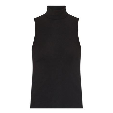 Wendel Sleeveless Polo Top, ${color}
