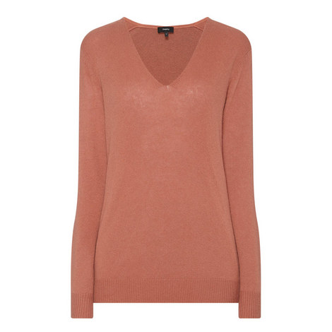 Adrianna V-Neck Sweater, ${color}