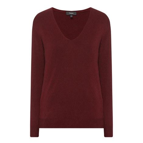 Adriana V-Neck Sweater, ${color}