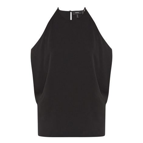 Bendava Silk Trapeze Top, ${color}