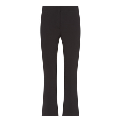 Erstina Cropped Bootcut Trousers, ${color}