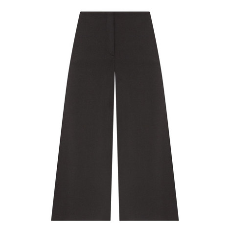 Henriet Flared Cropped Trousers, ${color}