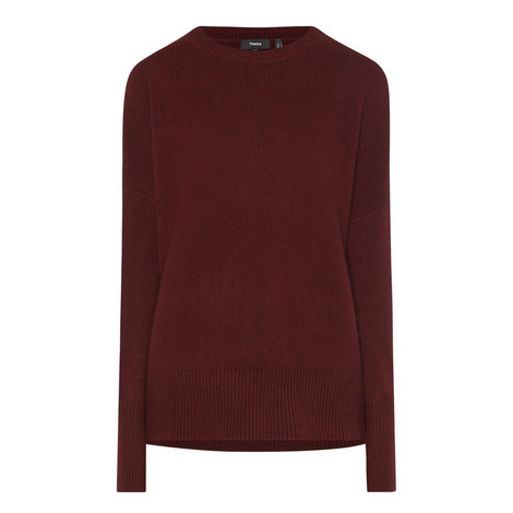Karenia Relaxed Fit Cashmere Sweater, ${color}