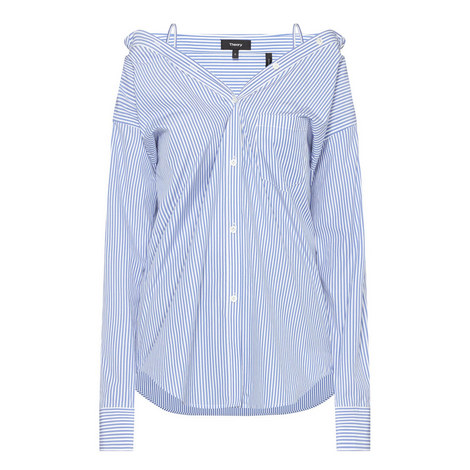 Tamalee Stripe Shirt, ${color}