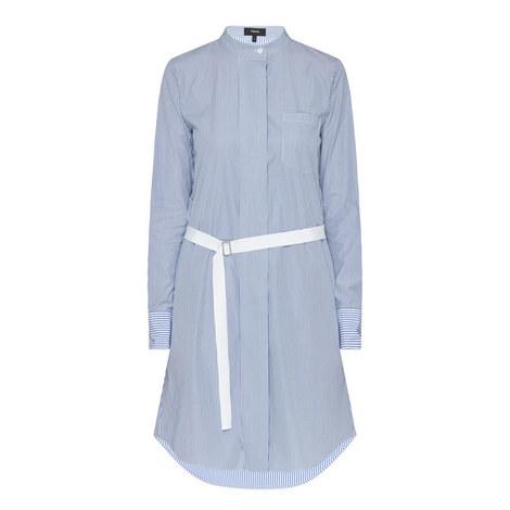 Jodalee Striped Shirt Dress, ${color}