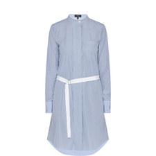 Jodalee Striped Shirt Dress