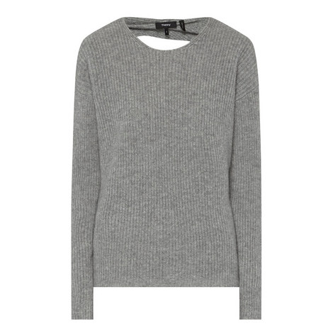 Twylina Open Back Sweater, ${color}