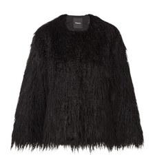 Elstana Short Faux Fur Jacket