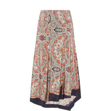 Bitrah Paisley Skirt