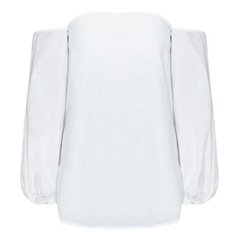 Laureema Bustier Bell Sleeve Top, ${color}