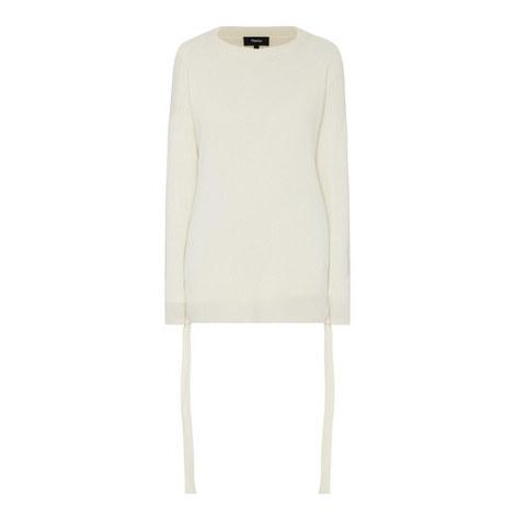 Karenia Cashmere High-Low Sweater, ${color}